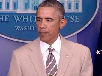 Блогеры раскритиковали костюм Обамы