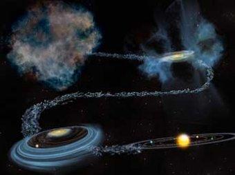 Ученые: половина воды на Земле старше Солнца и попала сюда из космоса