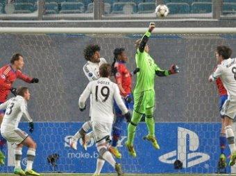 ЛЧ-2014 по футболу: ЦСКА потерпел поражение в матче с Баварией со счетом 0:1 (ВИДЕО)
