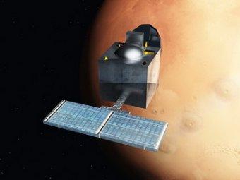 Опубликованы первые снимки Марса, снятые индийским зондом