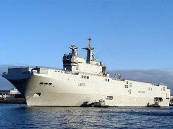 Во Франции митинги лишили российский экипаж «Мистраля» выходных