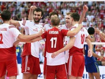 Поляки победили на чемпионате мира по волейболу