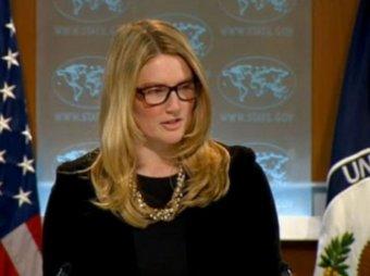 Мари Харф заявила, что журналист АР «ведется на российскую пропаганду»