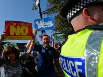 Референдум в Шотландии 2014: первые результаты – не в пользу сторонников независимости
