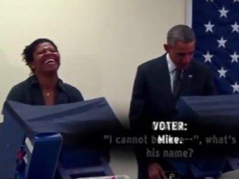 В США парень попросил Обаму не трогать его девушку, но тот все равно ее поцеловал
