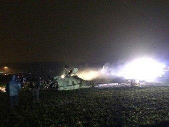 Авиакатастрофа во Внуково 21 октября: фото с места крушения Falkon-50 попали в Сеть (ФОТО)