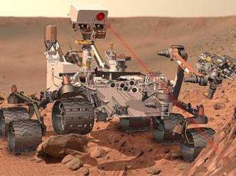 На Марсе нашли окаменевших инопланетян, ракету и голову льва