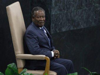 В Лондоне скончался президент Замбии Майкл Сата