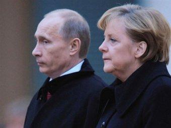 Меркель отказалась от правительственных консультаций с Путиным