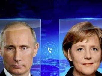 Путин обсудил с Меркель ситуацию на Украине, она снова указала, как себя вести России