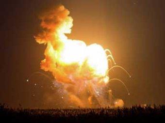 СМИ: ракету Antares в США специально взорвали при запуске