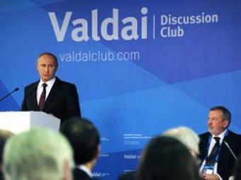 "СМИ составили ТОП-10 цитат Путина на ""Валдае"": о ""клопах"" Запада, санкциях и медведях"