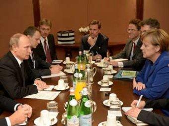 Путин завершил переговоры с Меркель по ситуации на Украине