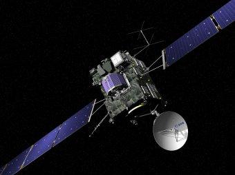 Официальные фото с кометы Чурюмова-Герасименко появились в Сети