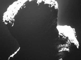 Робот Philae впервые в истории начал спуск на комету Чурюмова-Герасименко