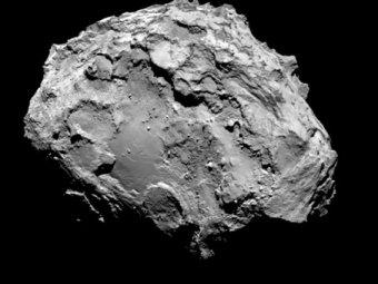 СМИ наглядно представили размеры кометы Чурюмова-Герасименко
