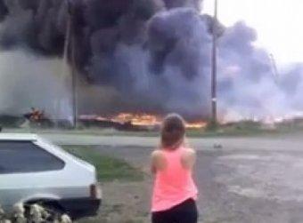 Видео, снятое спустя минуты после крушения Boeing под Донецком, появилось в Сети (видео)