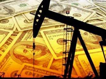 Стоимость нефти поднялась выше  за баррель, а курс евро и доллара упал