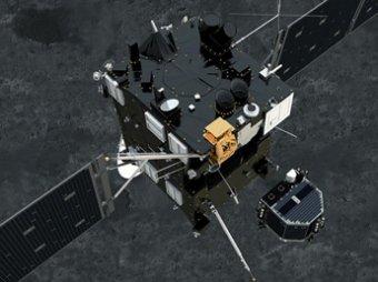 Зонд «Филы» начал бурение поверхности кометы