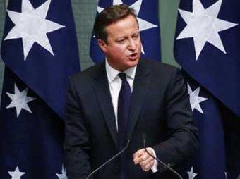Британский премьер Дэвид Кэмерон пригрозил России новыми санкциями