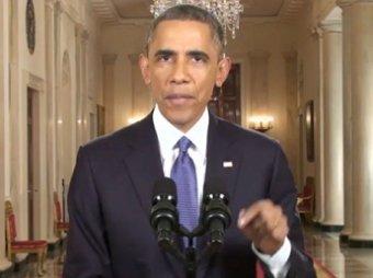 Американские телеканалы отказались транслировать речь Обамы в прямом эфире