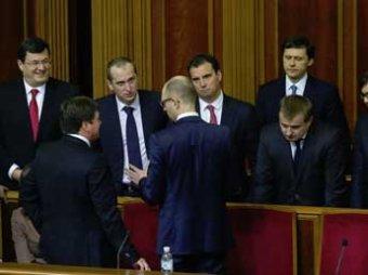 Рада утвердила новый состав правительства Украины: в нем теперь три иностранца