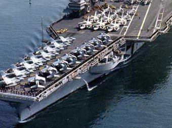 Пентагон продал авианосец USS Ranger из фильма «Лучший стрелок» за 1 цент