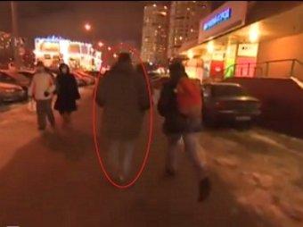 В Сети появилось видео побега Навального из-под домашнего ареста на Манежную площадь