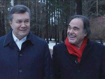 Виктор Янукович стал героем фильма Оливера Стоуна