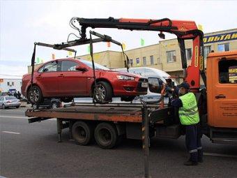 Эвакуацию автомобилей в Москве будут снимать на видео