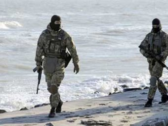 Украинские военные заминировали часть побережья Азовского моря