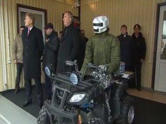 Путину продемонстрировали боевого робота-аватара