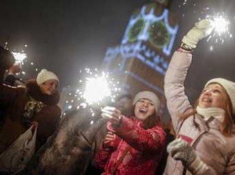 Россия встретила новогоднюю ночь без страшных жертв и ЧП