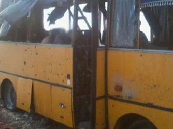 Новости Новороссии 13 января 2015: Военные ДНР установили, как был расстрелян автобус под Волновахой (фото)