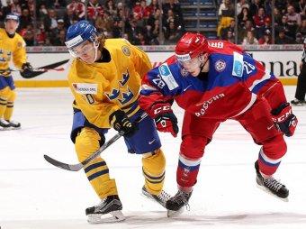 Россия – Швеция, Молодежный чемпионат мира 2015: полуфинал закончился победой россиян (ВИДЕО)