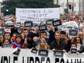Франция после терактов выходит на «марш единства»