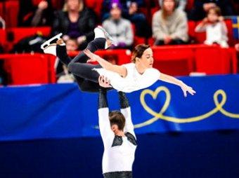 Чемпионат Европы по фигурному катанию 2015: Столбова и Климов лидируют (видео)