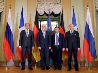 """Встреча глав МИД стран """"нормандской четверки"""" завершилась в Берлине, они скоро снова встретятся"""