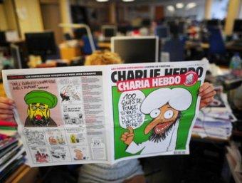 """Во Франции неизвестные расстреляли сотрудников сатирического журнала """"Шарли Эбдо"""": 12 убитых (фото, видео)"""