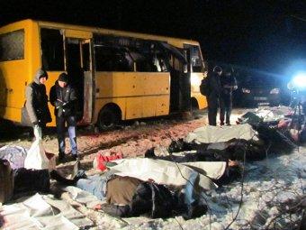 Новости Новороссии и Украины 14 января 2015: Порошенко начинает мобилизацию в ответ на обстрел автобуса под Волновахой (видео)