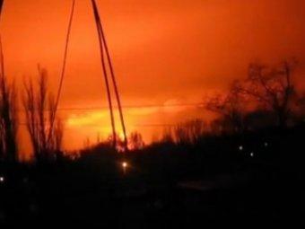 Взрыв в Донецке 9 февраля 2015: Донецкий военный химзавод оказался в эпицентре мощного взрыва (видео)