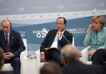 Меркель и Олланд едут в Москву к Путину, чтобы прекратить войну на востоке Украины