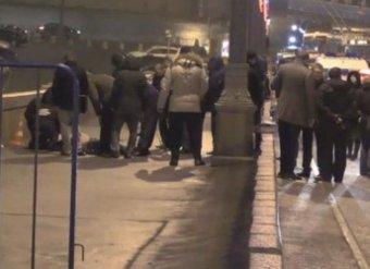 Убийство Бориса Немцова попало на видео (видео)
