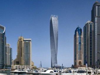 В Дубае горел самый высокий небоскреб «Факел»