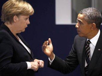После беседы с Путиным и Порошенко американцы нашли у Меркель «московскую чушь»