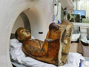 Учёные нашли мумию в древней статуе Будды