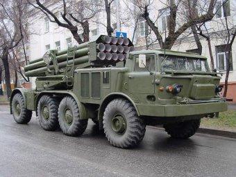 """Украинские военные пишут жуткие послания на ракетах """"Ураган"""""""