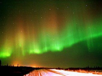 На Урале можно сегодня можно увидеть северное сияние из-за мощной вспышки на Солнце
