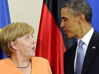 Обама и Меркель выдвинули условия, при которых санкции против РФ будут сняты