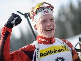 Российские биатлонисты остались без медалей в спринте на ЧМ-2105 (видео)